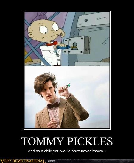 Doctor Who 10th Doctor Tommy Pickles Rugrats