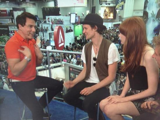 Matt Smith Karen Gillan Doctor Who Interview G4