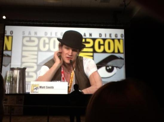 Matt Smith Doctor Who TV Guide Faves Panel