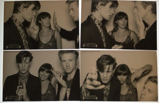 Doctor Who Comic Con Matt Smith Karen Gillan Arthur Darvill